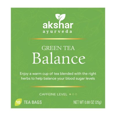balance  green tea